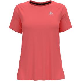 Odlo Essential T-Shirt S/S Crew Neck Women, rojo